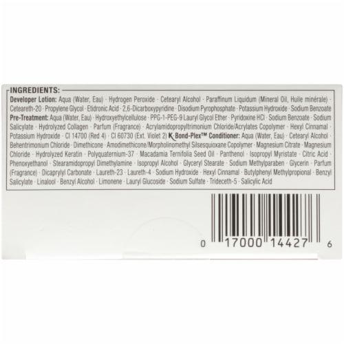 Schwarzkopf® Keratin Color 1.8 Ruby Noir Permanent Hair Color Perspective: bottom