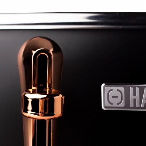 Haden Heritage 4-Slice Toaster - Black/Copper Perspective: bottom