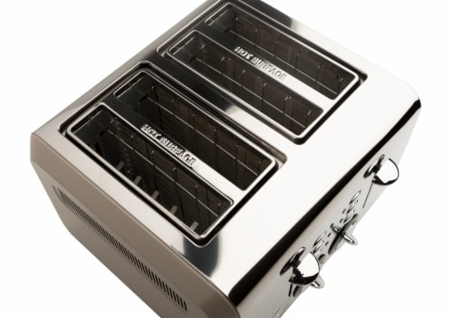 Haden Cotswold 4-Slice Wide Slot Toaster - Putty Perspective: bottom