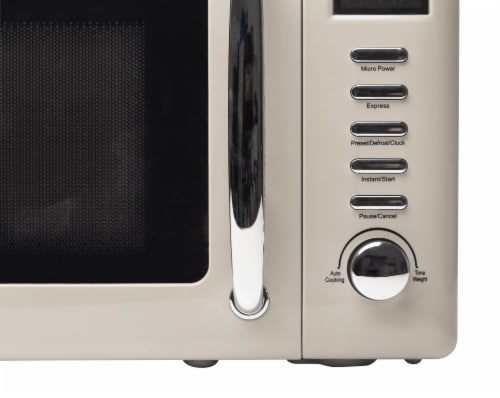 Haden Dorset Microwave - Putty Perspective: bottom
