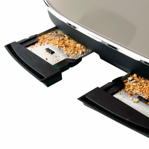 Haden Dorset 4-Slice Toaster - Putty Perspective: bottom