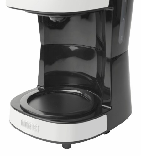 Haden Heritage Programmable Coffee Maker - Ivory White Perspective: bottom
