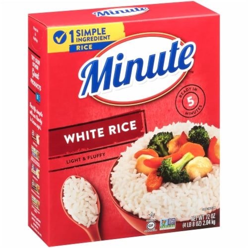 Minute White Rice Perspective: bottom