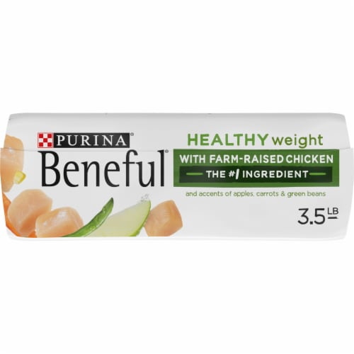 Beneful Healthy Weight with Real Chicken Dry Dog Food Perspective: bottom