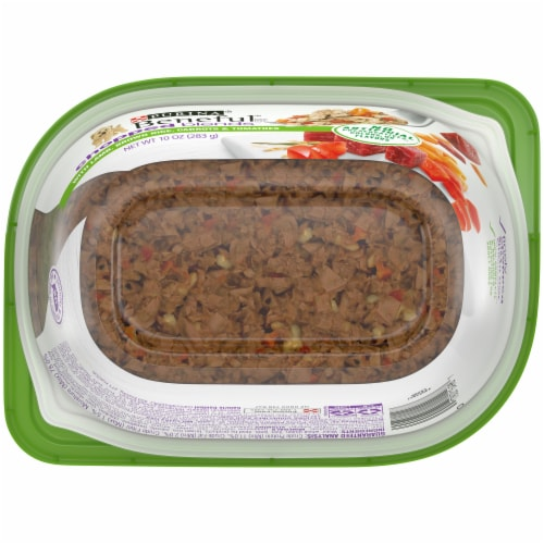 Beneful Chopped Blends with Lamb Brown Rice Carrots Tomatoes & Spinach Wet Dog Food Perspective: bottom