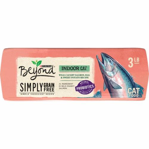 Beyond® Simpy Grain Free Salmon Egg & Sweet Potato Recipe Indoor Dry Cat Food Perspective: bottom