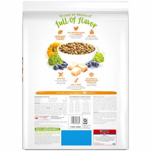 Beneful Grain Free with Real Farm-Raised Chicken Natural Dry Dog Food Perspective: bottom