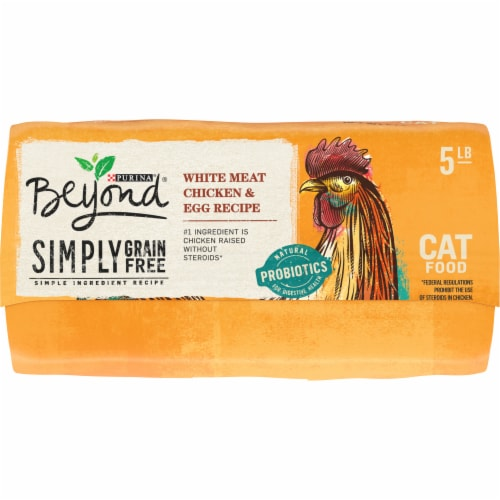 Beyond® Simply Grain Free White Meat Chicken & Egg Recipe Dry Cat Food Perspective: bottom
