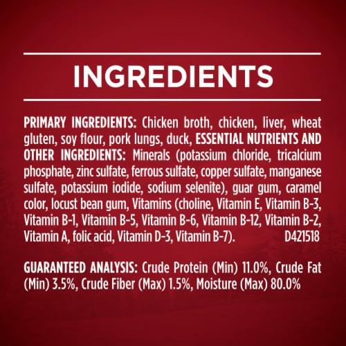 Purina ONE SmartBlend True Instinct Real Chicken & Duck in Gravy Adult Wet Dog Food Perspective: bottom