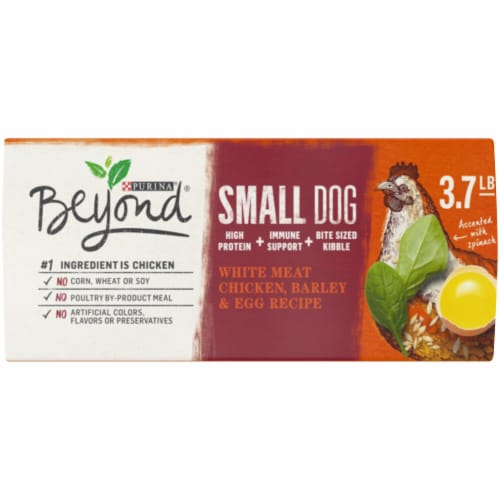 Beyond® White Meat Chicken Barley & Egg Recipe Natural Dry Small Dog Food Perspective: bottom