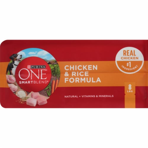 Purina ONE® SmartBlend® Chicken & Rice Formula Natural Dry Adult Dog Food Perspective: bottom