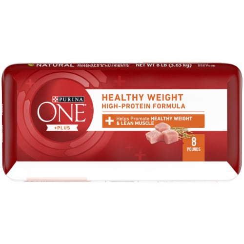 Purina ONE SmartBlend Healthy Weight Formula Turkey Natural Dry Adult Dog Food Perspective: bottom