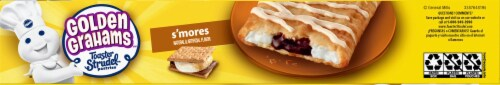 Pillsbury Golden Grahams S'Mores Toaster Strudel Pastries Perspective: bottom