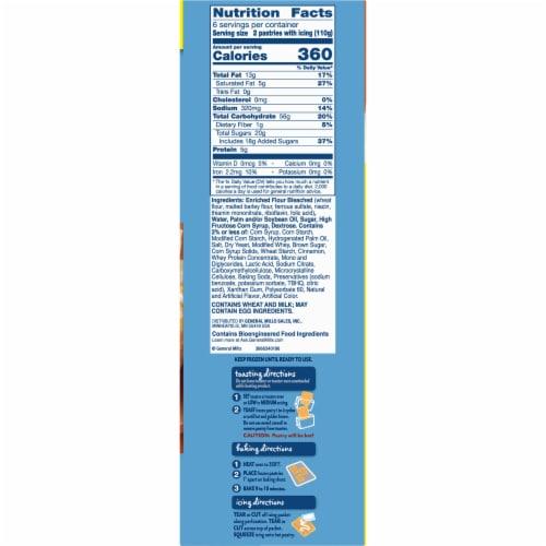 Pillsbury Cinnamon Roll Toaster Strudel Pastries Value Pack Perspective: bottom