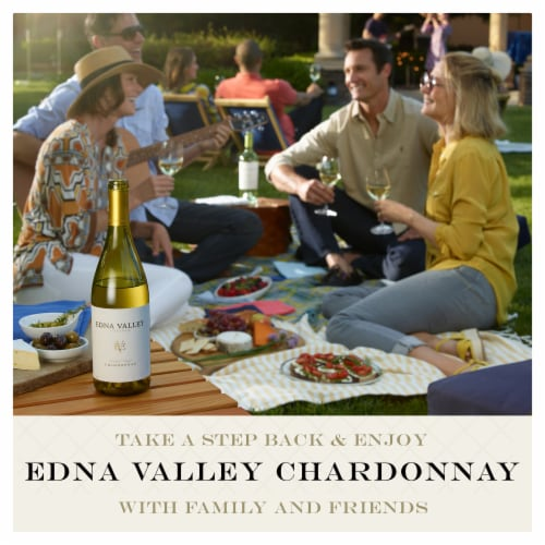 Edna Valley Vineyard Chardonnay White Wine Perspective: bottom