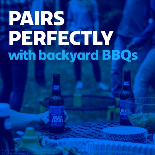 Bud Light Lager Beer Perspective: bottom