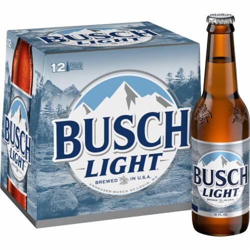 Busch Light® Lager Beer Perspective: bottom