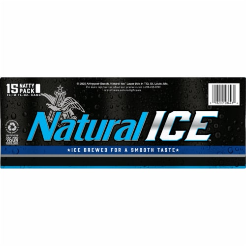 Natural Ice Natty Pack Beer Perspective: bottom