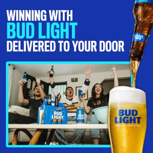 Bud Light Beer Perspective: bottom