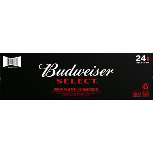 Budweiser Select® Lager Beer Perspective: bottom