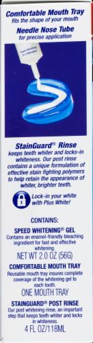 Plus White 5-Minute Premier Whitening System Dental Kit Perspective: bottom