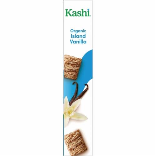 Kashi Organic Vegan Breakfast Cereal Island Vanilla Perspective: bottom