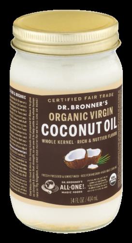 Dr. Bonner's Organic Virgin Coconut Oil Perspective: bottom
