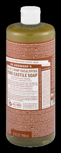 Dr. Bronner's 18-in-1 Hemp Eucalyptus Pure-Castile Liquid Soap Perspective: bottom