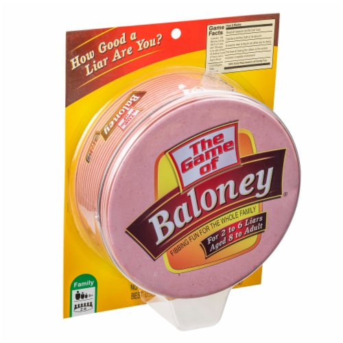TDC Games The Game of Baloney Board Game Perspective: bottom