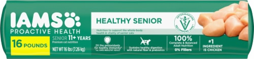 IAMS™ Proactive Health™ Healthy Senior with Chicken Dry Cat Food Perspective: bottom