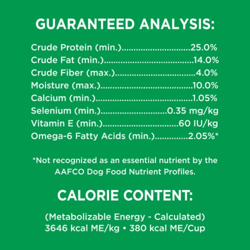 IAMS Minichunks Chicken & Whole Grains Recipe Adult Dry Dog Food Perspective: bottom