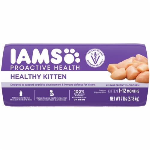 IAMS Proactive Health with Chicken Healthy Kitten Dry Cat Food Perspective: bottom