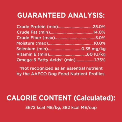 IAMS™ Minichunks Lamb & Rice Recipe Dry Adult Dog Food Perspective: bottom