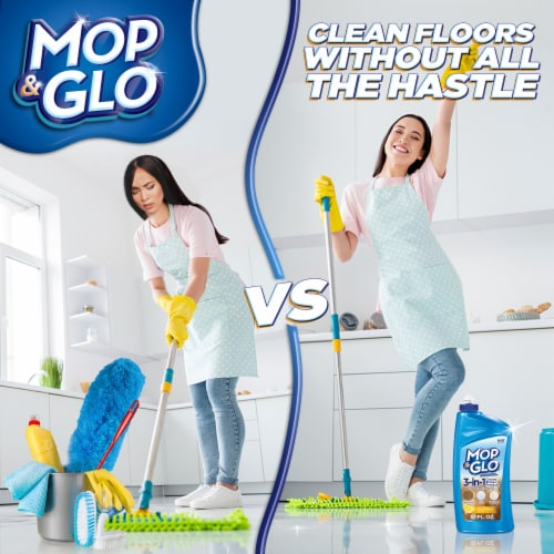Mop & Glo Multi-Surface Floor Cleaner Perspective: bottom