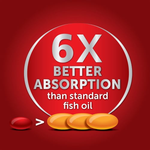 Schiff MegaRed Advanced Absorption Omega-3s Softgels 800mg Perspective: bottom
