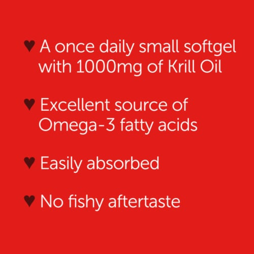 Schiff MegaRed Superior Omega-3 Krill Oil 1000mg Perspective: bottom