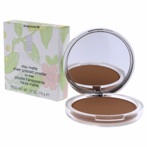 Stay-Matte Sheer Pressed Powder - # 04 Stay Honey M - Dry Combination To Oily Perspective: bottom