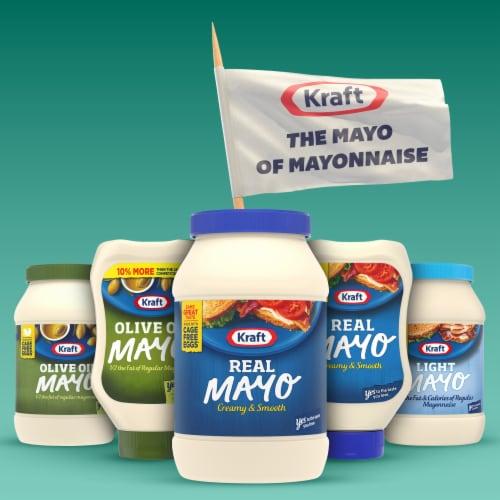 Kraft Creamy & Smooth Real Mayonnaise Perspective: bottom