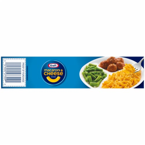 Kraft First Adventures Italian Inspired Mac and Cheese with Meatball and Green Beans Perspective: bottom