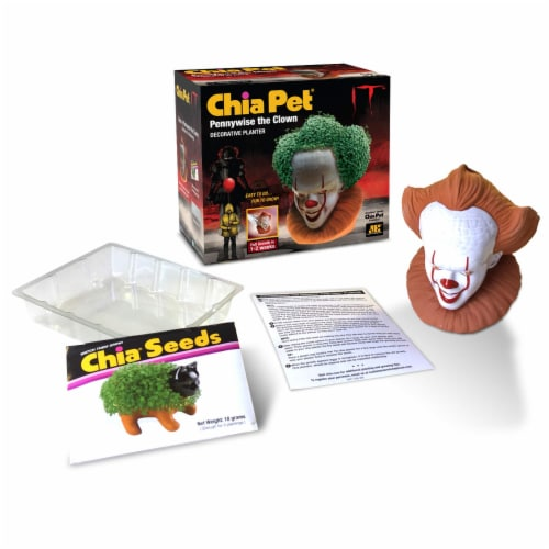 Chia Pet Planter - Pennywise the Clown Perspective: bottom
