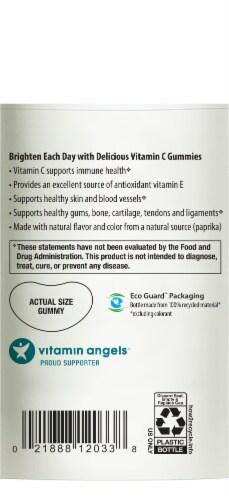 Rainbow Light Gummy Vitamin C Slices Gummies 250mg Perspective: bottom