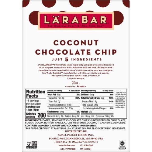 Larabar Coconut Chocolate Chip Bars Perspective: bottom
