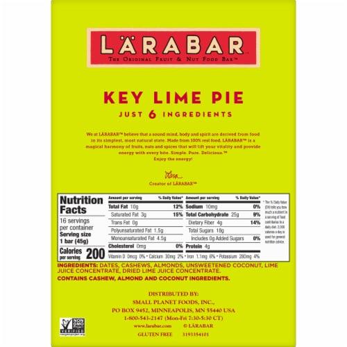 Larabar Key Lime Pie Fruit & Nut Bars Perspective: bottom