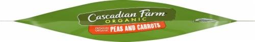 Cascadian Farm Premium Organic Peas & Carrots Perspective: bottom