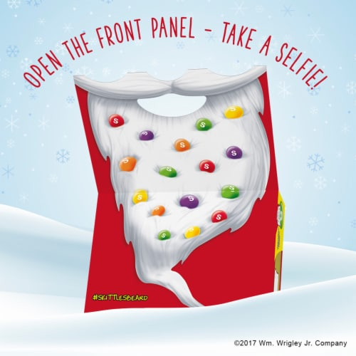 SKITTLES Holiday Candy Storybook Christmas Stocking Stuffers Perspective: bottom