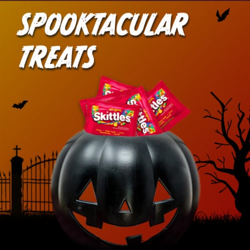 Skittles Original Fun Size Candy Bag Perspective: bottom