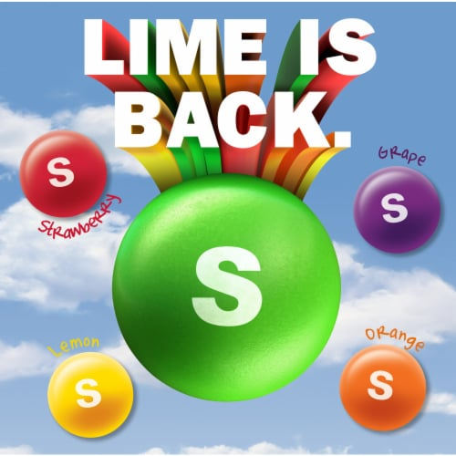Skittles Original Chewy Candy Sharing Size Perspective: bottom