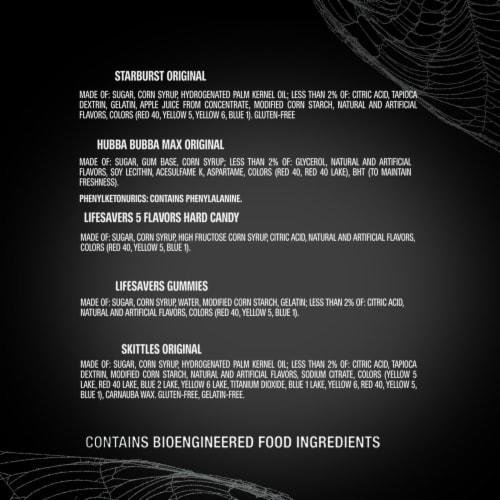 Mixed Sugar Grab Halloween Candy Bag Perspective: bottom