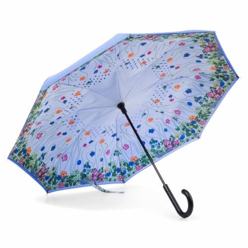 Totes Inbrella Reverse Close Umbrella Perspective: bottom