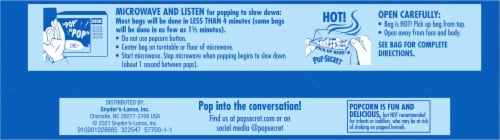 Pop Secret Movie Theater Butter Microwave Popcorn Perspective: bottom